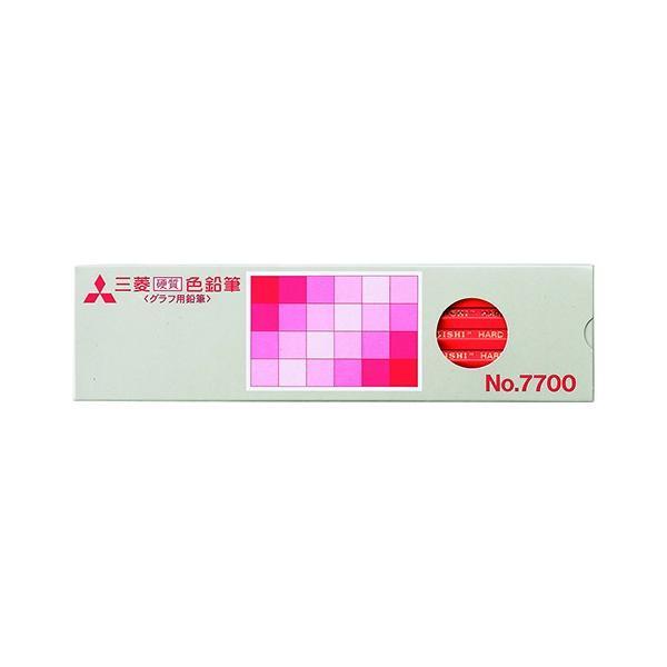 AC-00071847 三菱鉛筆 硬質色鉛筆7700 15 赤K7700.15