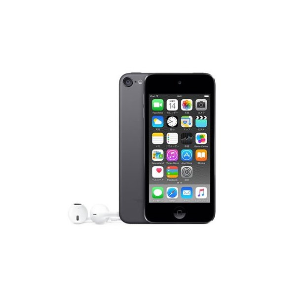APPLE iPod touch 128GB MKWU2J/A(iPod touch 128GB) スペースグレイの画像
