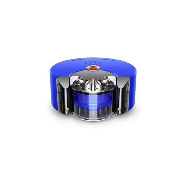Dyson 360 Heurist ロボット掃除機 RB02 BN ニッケル/ブルーの画像