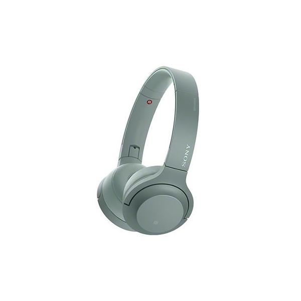 ソニー Bluetoothヘッドホン WH-H800 G ホライズングリーンの画像