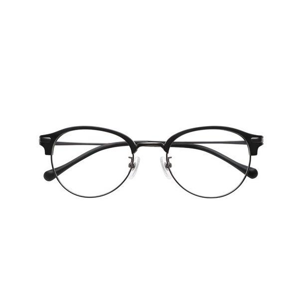 小松貿易 PINT GLASSES[ピントグラス] PG-112L-MBK・マットブラック(軽度:+0.00〜+1.75D)