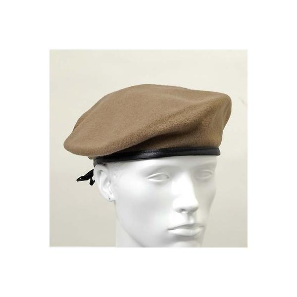 US.カーキ、ベレー帽(新品)ミリタリー|la-boy|02