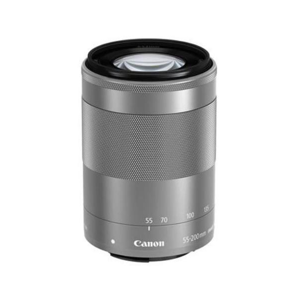 キヤノン Canon EF-M55-200mm F4.5-6.3 IS STM シルバー 新品 国内正規品