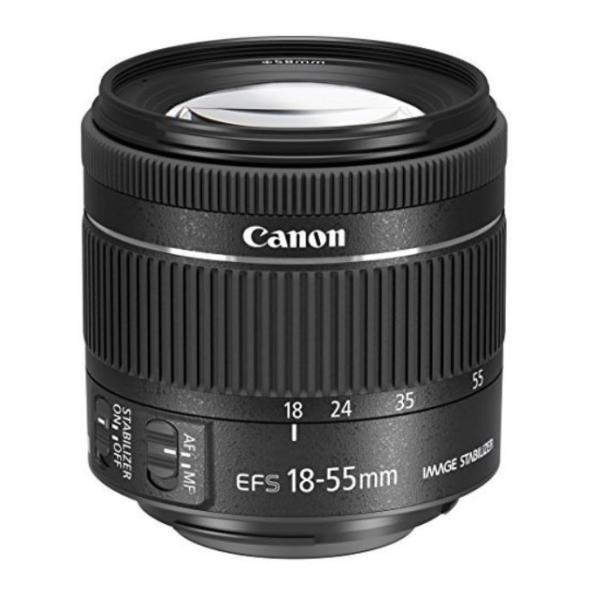 Canon キヤノン 新品 EF-S18-55mm F4-5.6 IS STM 標準ズームレンズ 国内正規品