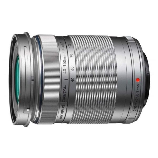 OLYMPUS 望遠ズームレンズ M.ZUIKO DIGITAL ED 40-150mm F4.0-5.6 R シルバー 新品 国内正規品
