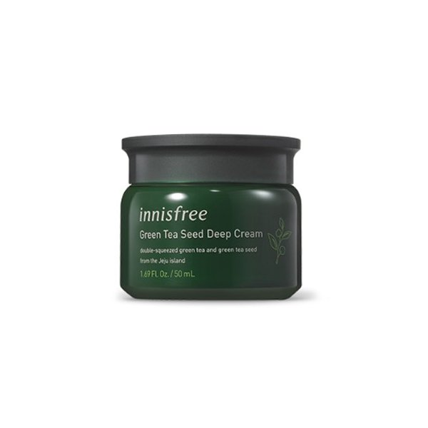 【Innisfree  イニスフリー 】ザ・グリーンティー シード ディープ クリーム(50ml) / The Green Tea Seed Deep Cream 韓国コスメ labelle-cosme