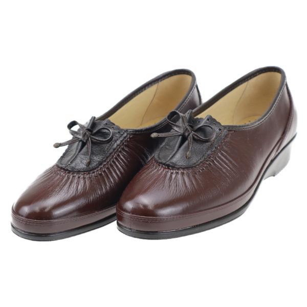 お多福 レディース 婦人 コンフォートシューズ 靴 磁気付健康 日本製 母の日 敬老の日 ギフト アイリス ブラウン