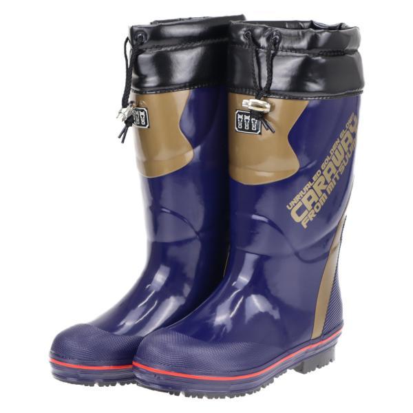 ミツウマ メンズ 滑らない 防寒長靴 寒冷地仕様 レインブーツ スノーブーツ 雪 冬 キャラウェイ2018 コン
