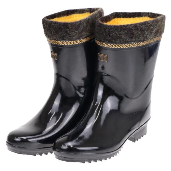 ミツウマ メンズ 紳士 年配向け 防寒長靴 スノーブーツ レイン 寒冷地仕様 滑りにくい ダービーキング230