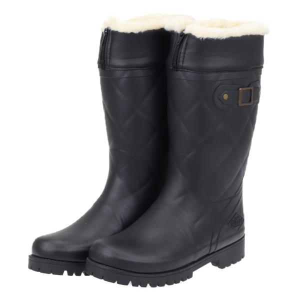 ミツウマ レディース メンズ おしゃれ 防寒長靴 寒冷地 スノーブーツ 冬 雪 2WAYタイプ グリーンフィールド Gフィールド4033 ブラック
