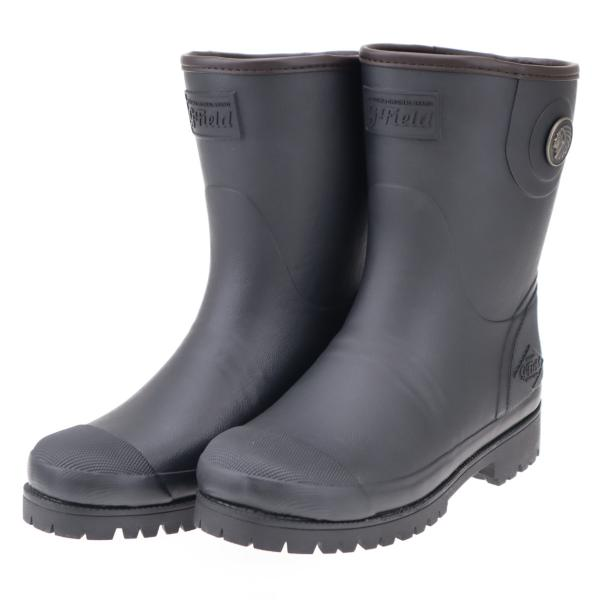 ミツウマ レディース メンズ 男女兼用 防寒長靴 寒冷地 ショートタイプ スノーブーツ 冬 雪 グリーンフィールド GフィールドL4013MU ブラック