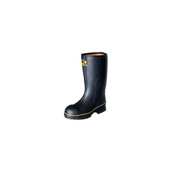 弘進ゴム メンズ 紳士 男性用 鋼製先芯入りラバーブーツ 長靴 レインブーツ 安全靴 軽量設計 LSW01