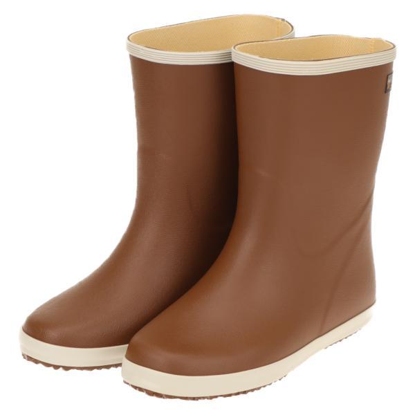 弘進ゴム 超軽量 レディース レインブーツ 長靴 作業 デイリー履き マリアンライトML231 ブラウン