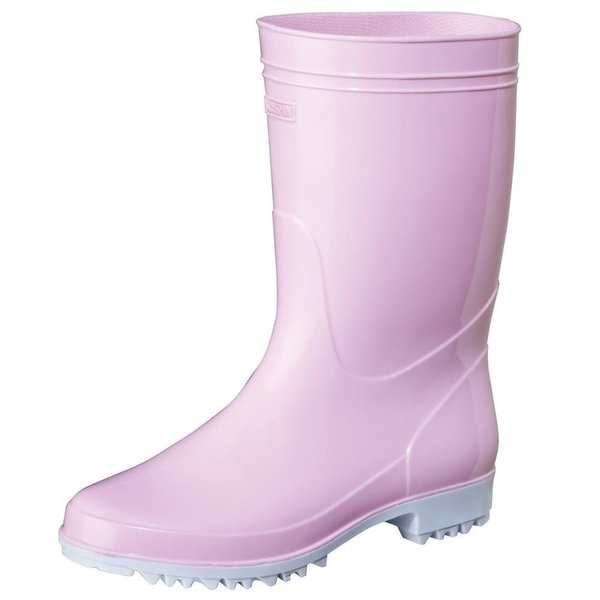 弘進ゴム  レディース 耐油 衛生長靴 厨房 食品 水産などに 日本製 ゾナG3耐油  ピンク
