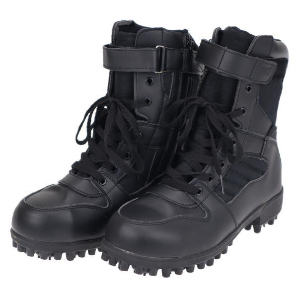 メンズ男性用紳士安全靴山林用スパイクブーツシューズ靴林業登山土木山菜取りなどミツウマNSスパイクブーツ