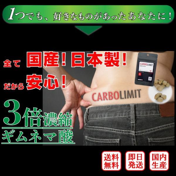 糖質制限 糖質オフ ダイエット サプリ 30代 40代 50代 カーボリミット ギムネマ 国産 送料無料 C1|labo-hanshin|05