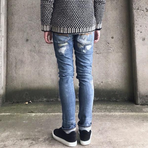 ヌーディージーンズ nudie jeans デニム ダメージ GRIM TIM - KURT REPLICA - 44161-1110|labo04onlineshop|02