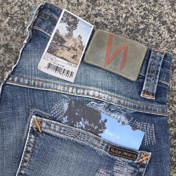 ヌーディージーンズ nudie jeans デニム ダメージ GRIM TIM - KURT REPLICA - 44161-1110|labo04onlineshop|11