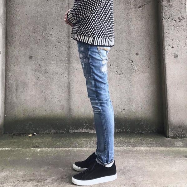 ヌーディージーンズ nudie jeans デニム ダメージ GRIM TIM - KURT REPLICA - 44161-1110|labo04onlineshop|03