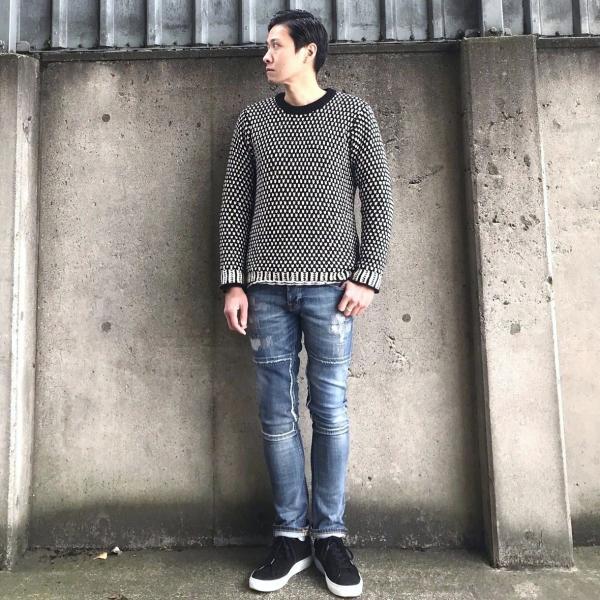 ヌーディージーンズ nudie jeans デニム ダメージ GRIM TIM - KURT REPLICA - 44161-1110|labo04onlineshop|04