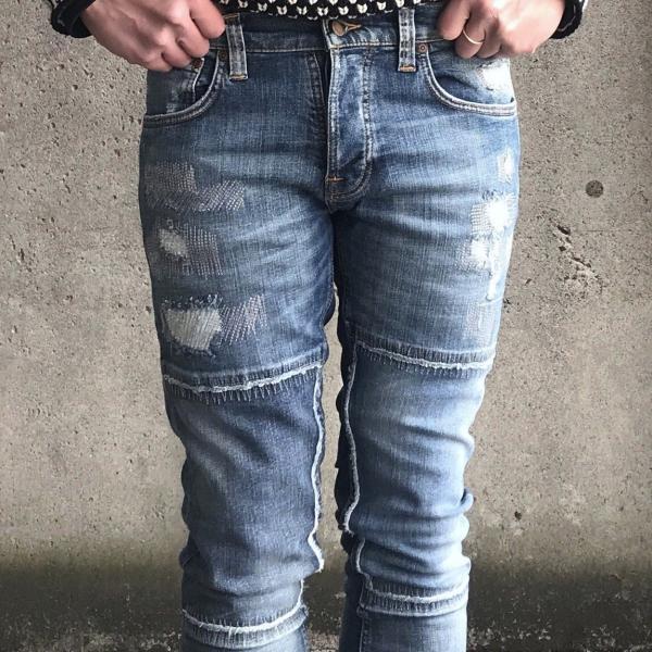 ヌーディージーンズ nudie jeans デニム ダメージ GRIM TIM - KURT REPLICA - 44161-1110|labo04onlineshop|05