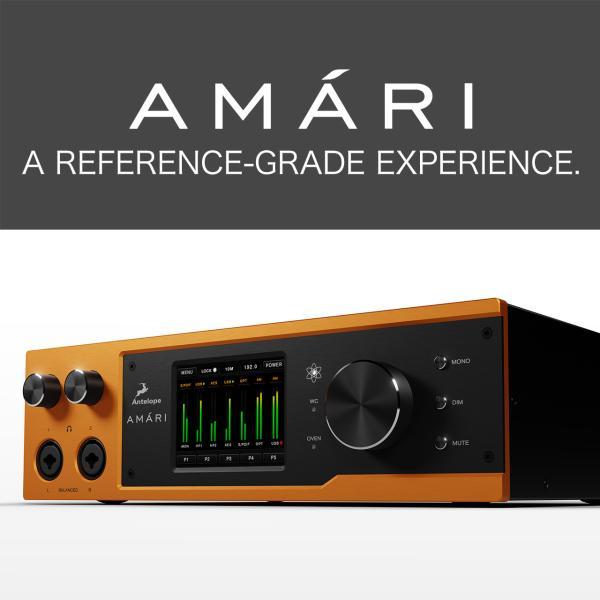 到着、在庫あり! Antelope Audio アンテロープ オーディオ AMARI 高性能DAC ヘッドフォン アンプ|lacasaacustica