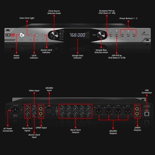 ラスト1台! OCX HD 768 kHz HD Master Clock【B-Stock】1年間メーカー保証付き|lacasaacustica|02