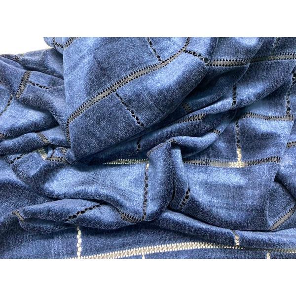 レース 生地 No.137442Y ベロアレース【幾何柄】 50cm単位販売 lace 06