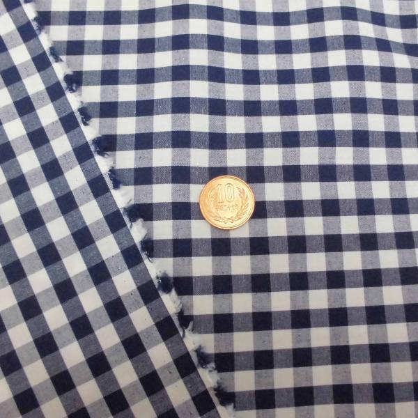 綿ギンガムチェック生地(3色) おしゃれ 定番 シャツ スカート カットソー チュニック ワンピース 大人 子供 男の子 女の子 コットン チェック laceya 02