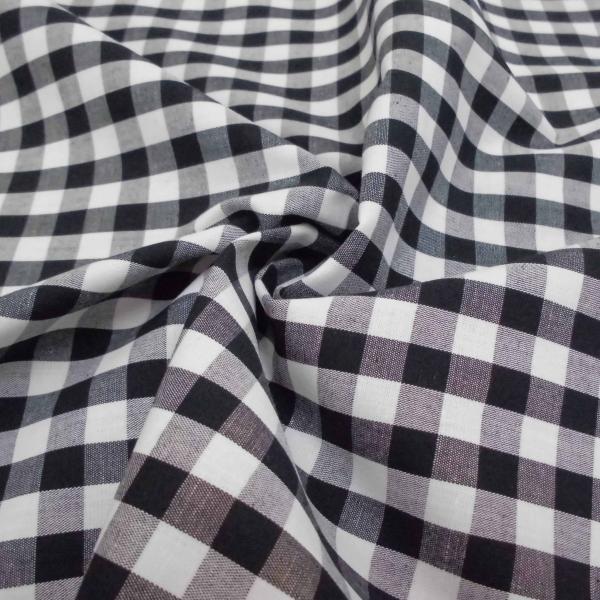 綿ギンガムチェック生地(3色) おしゃれ 定番 シャツ スカート カットソー チュニック ワンピース 大人 子供 男の子 女の子 コットン チェック laceya 04