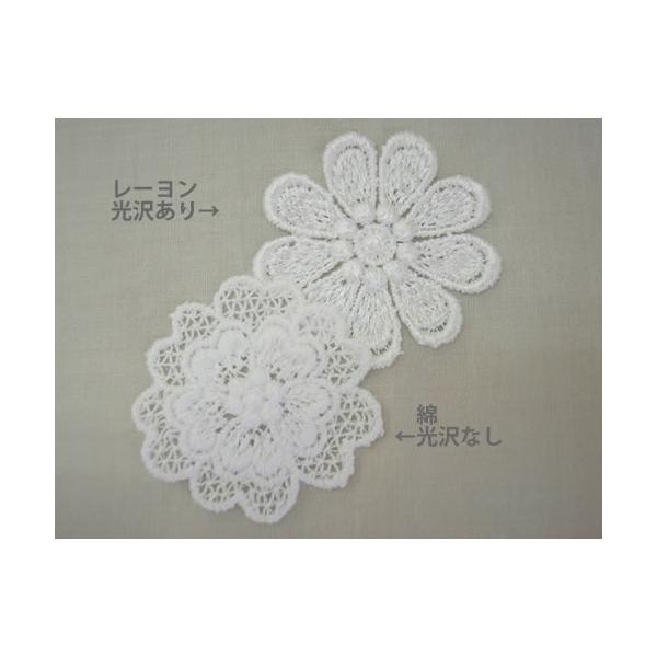 花・フラワー刺繍モチーフアップリケ入園入学準備におすすめ laceya