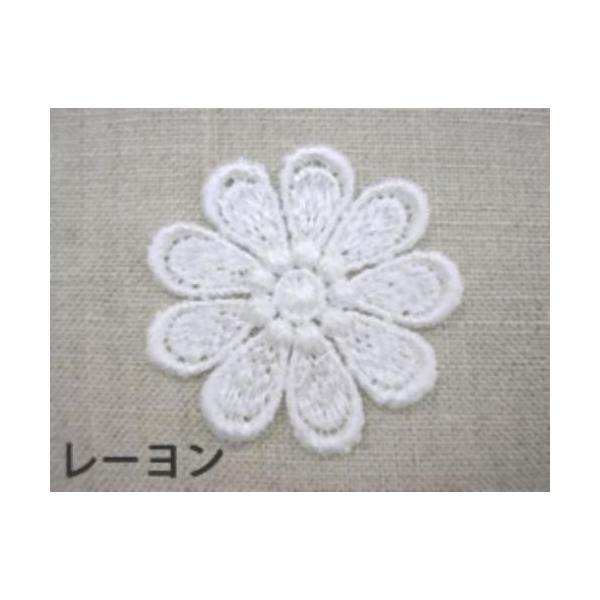 花・フラワー刺繍モチーフアップリケ入園入学準備におすすめ laceya 02