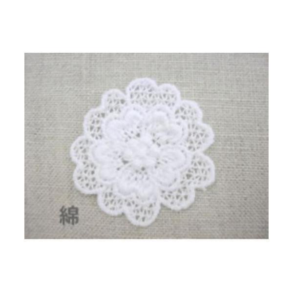 花・フラワー刺繍モチーフアップリケ入園入学準備におすすめ laceya 03