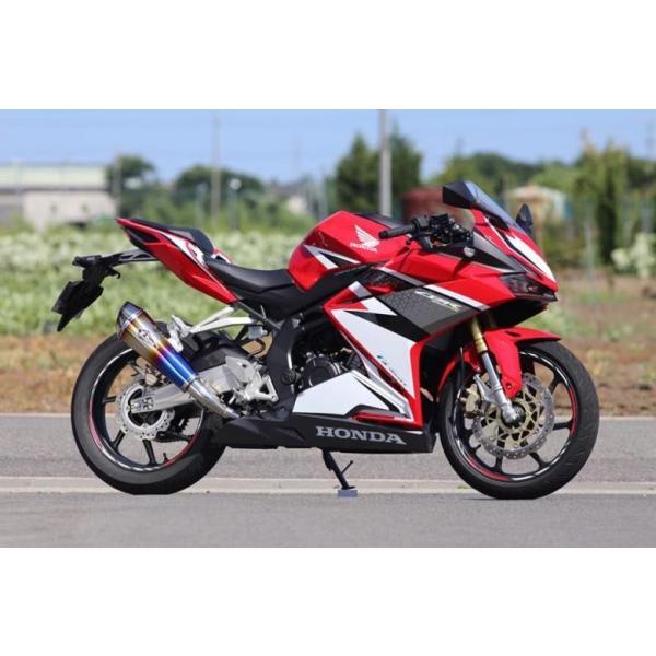 Fairing side in red for Honda MT STD