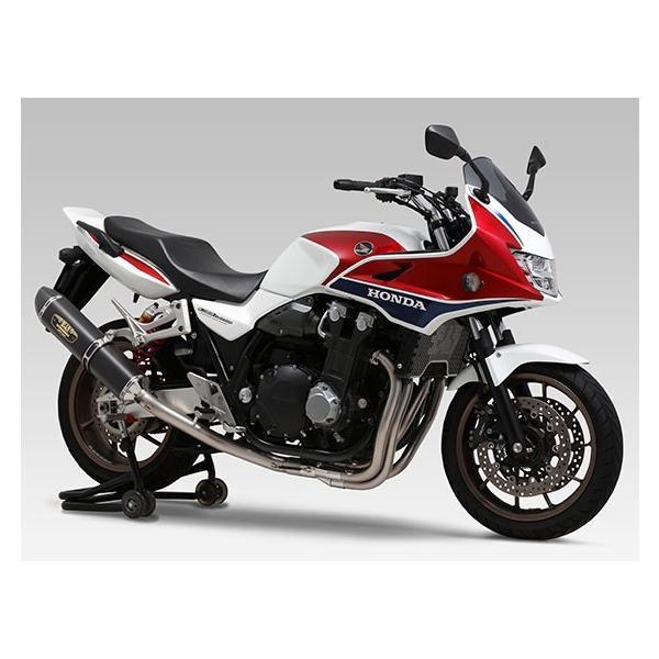 バイク CB1300SB(14 ) 機械曲R 77S チタンサイクロン マフラー