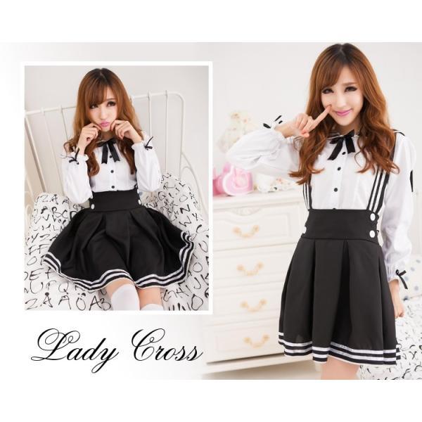 メイド服 コスプレ セクシー コスチューム レディース 2点セット 3カラー Sexy Lingerie|lady-cr|03