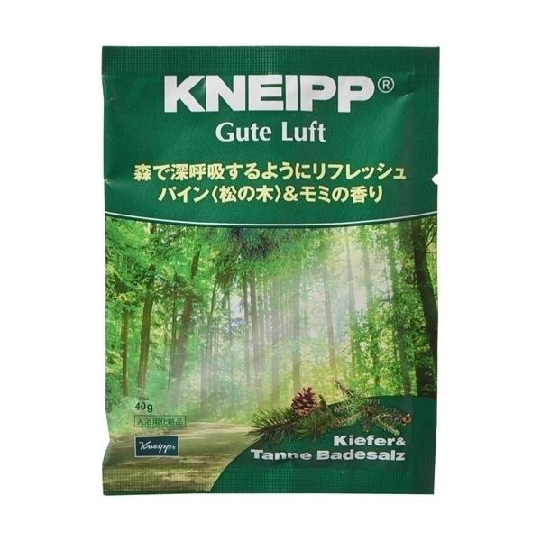 クナイプ グーテルフト バスソルト パイン<松の木>&モミの香り 40g