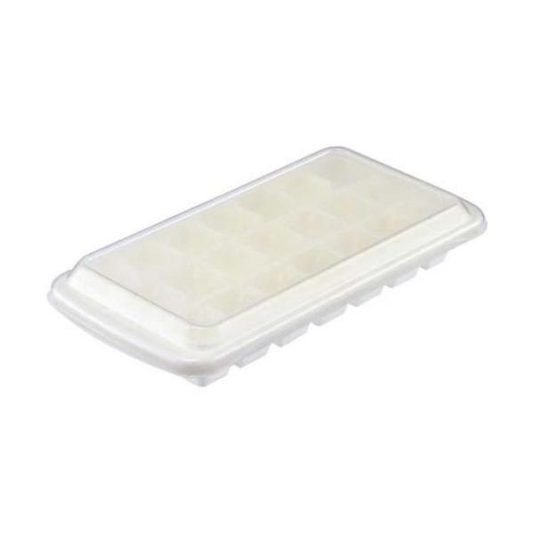 製氷皿 フェローズ フタ付 アイス S ホワイト K−284 WL / ラストロウェア※取り寄せ商品(注文確定後6-20日頂きます) 返品不可