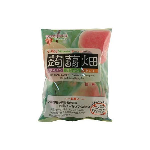 マンナン 蒟蒻畑白桃(25g×12個)