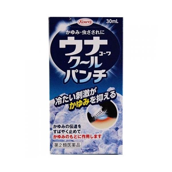 【第2類医薬品】ウナコーワ クールパンチ 30ml【当日つく高知】|ladygokouchi