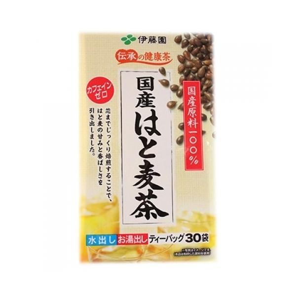 伊藤園 伝承の健康茶 国産はと麦茶 ティーバッグ(4g×30袋)