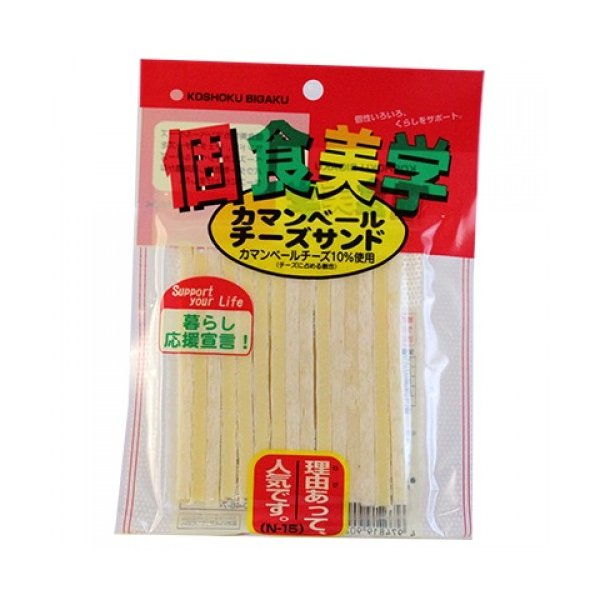 個食美学 カマンベールチーズサンド 38g×16個※取り寄せ商品(注文確定後6-20日頂きます) 返品不可