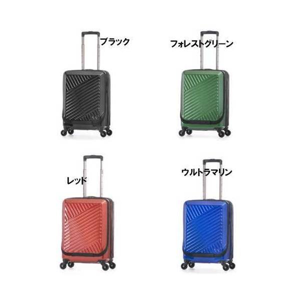 アジアラゲージ スーツケース 37リットル ALI-8000-18W アジア・ラゲージ 8000拡張 フロントオープン ポリカーボネイト 底面ハンドル付き アジアラゲージ 旅 …