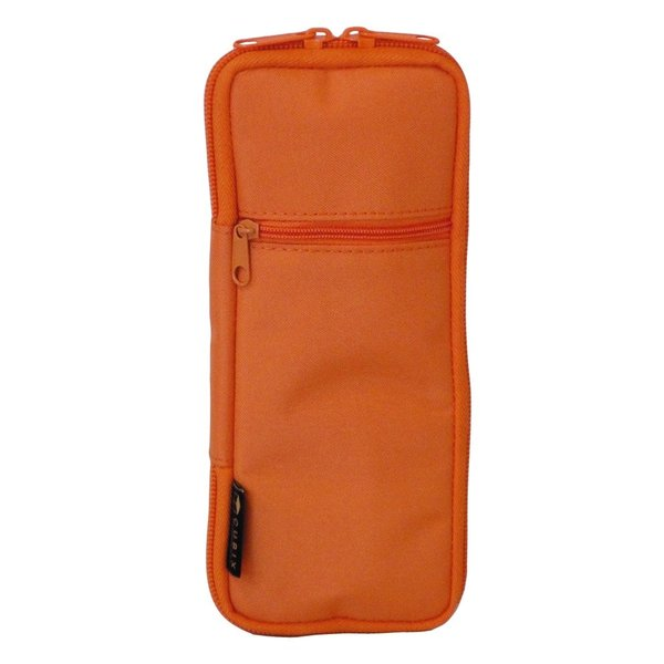 Sale  キュービックス ペンケース ラウンドジップ カラード オレンジ 106159-04