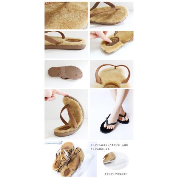 『Pompadour-ポンパドール-』Beach Mouton Sandal-ビーチムートンサンダル-