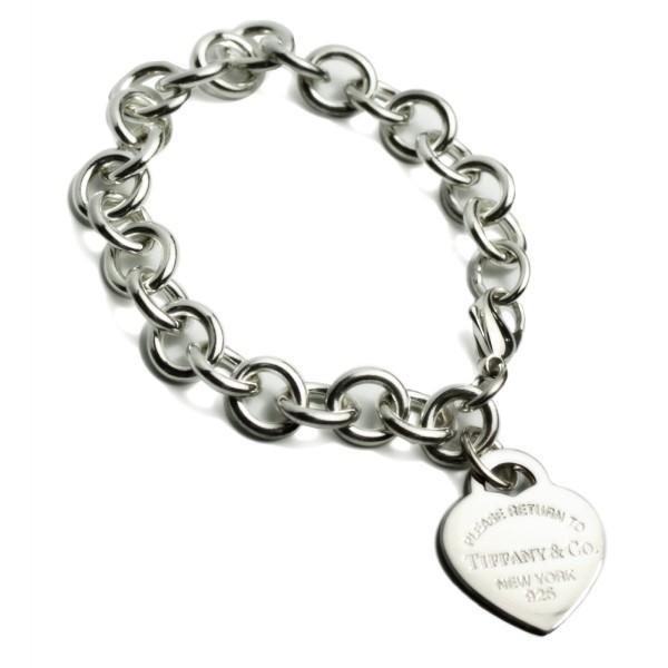 【予約】『Tiffany&Co-ティファニー-』 Heart tag bracelet ハートタグチャームブレスレット 28751192 《ご注文後3日前後発送予定》
