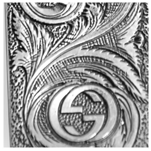 6352da98c8f7 ... 2018 『GUCCI-グッチ-』 Gucci Garden feline head money clip 523412 J2965 8164  ...