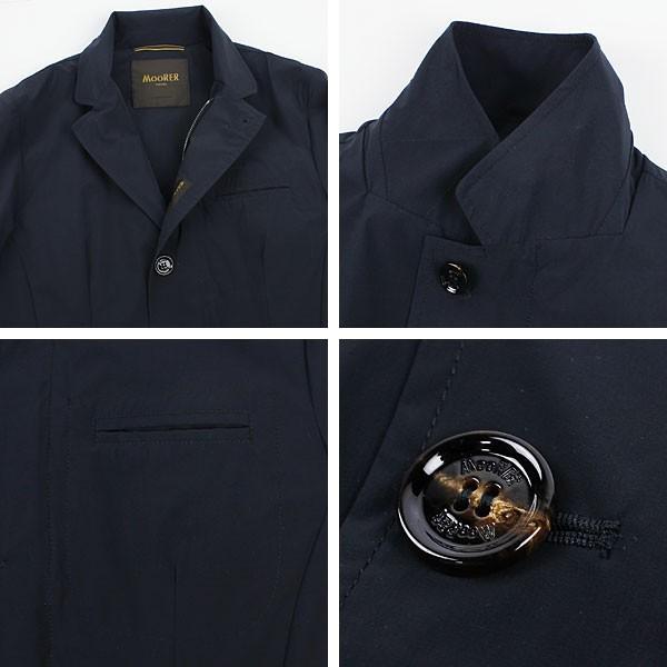 セール 国内正規品 MOORER ムーレー メンズ ストレッチ ナイロンジャケット DEZ EX BLU (ネイビー)special priceAM|laglagmarket|03