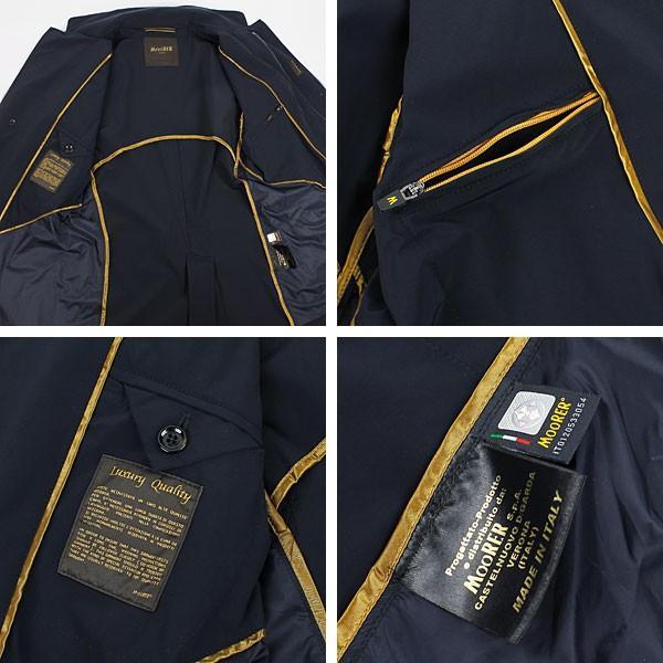 セール 国内正規品 MOORER ムーレー メンズ ストレッチ ナイロンジャケット DEZ EX BLU (ネイビー)special priceAM|laglagmarket|05