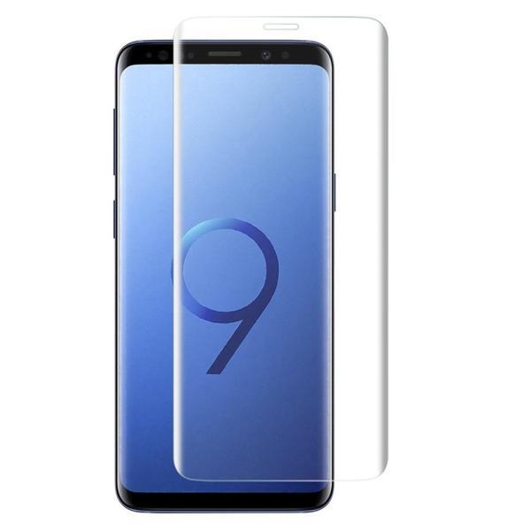 Galaxy S9 フィルム 3D曲面加工 全面保護 S9 ガラスフィルム 表面硬度9H docomo SC-02K au SCV38 Samsung ギャラクシー エスナイン 保護フィルム|lakko|06